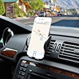 Ameauty Phone Mount Holder, 360 Degree Adjustable Air Vent Car Mount, Compatible with iPhone 7 7 Plus 6s 6 Plus 6 5s and other Smartphones and GPS devices