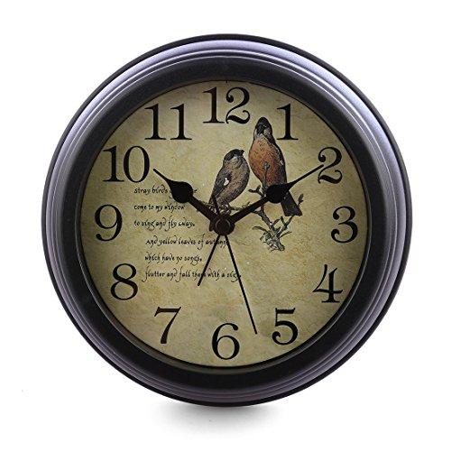 Lingxuinfo 6 inch European Style Silent Desk Alarm Clock Desk Clock for Living Room Decoration Review