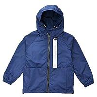 KISBINI Boys Kids Hoodies Coat Jacket Spring Dustcoat Windbreaker for Children Navy