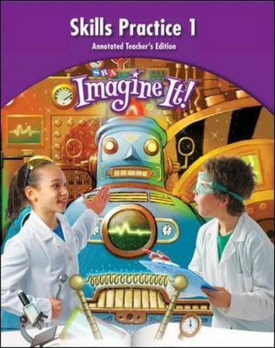 Imagine It!, Skills Practice Annotated Teachers Edition 1, Grade 4