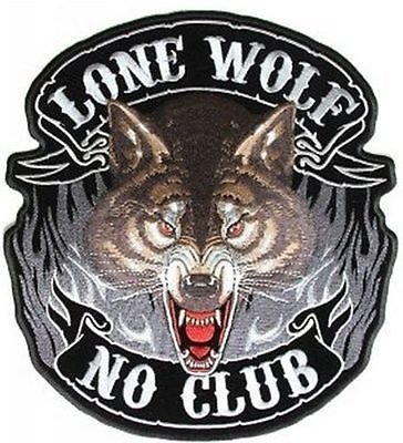 Lone Wolf Large NO CLUB HUGE 12