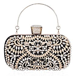 Rhinestone Crystal Clutch for Women