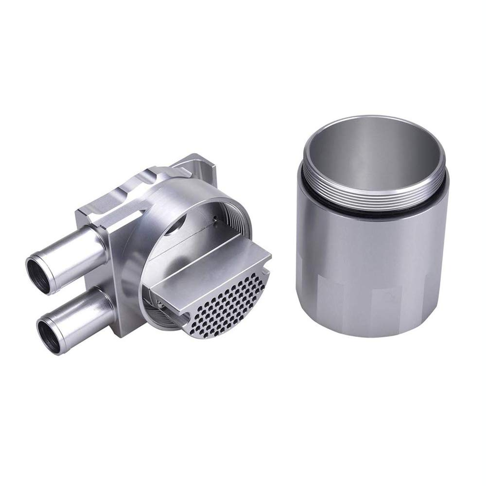Tasan Racing Polished Aluminum Oil Catch Can Reservior Tank for BMW N54 335 Black