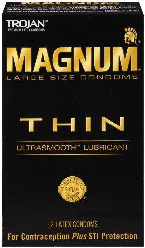 MAGNUM Thin Condoms, 12ct