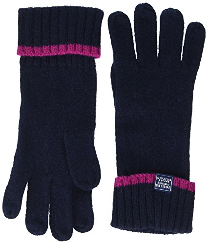 Joules Women's Huddle Knitted Gloves, French Navy, One Size