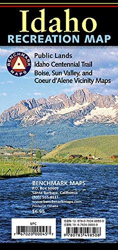 Idaho Map - Idaho Recreation Map (Benchmark Maps: Idaho)