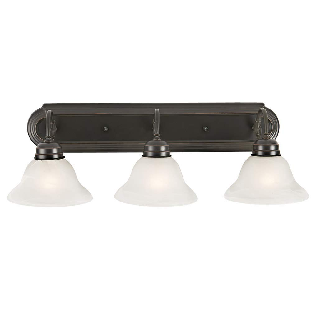 Design House 517615 Millbridge 3 Vanity Light, Oil Rubbed Bronze