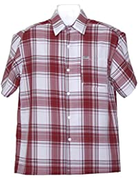 "<span class=""a-offscreen"">[Sponsored]</span>ALLBrand Men's Casual Short Sleeve Checkered Plaid Shirt"