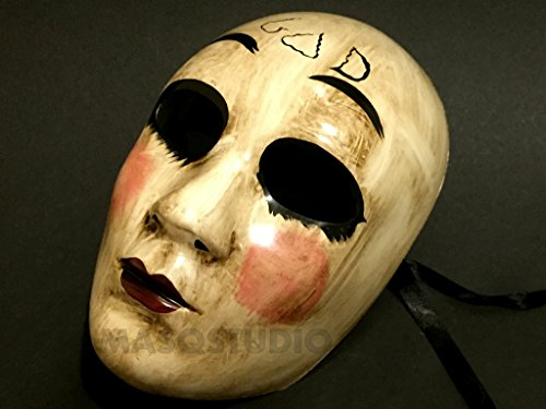 The purge GOD mask Anarchy movie mask horror Killer Halloween Costume Haunted House (God Mask)