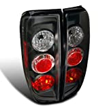 nismo nissan frontier - Spec-D Tuning LT-FRO05JM-TM Nissan Frontier Le Se Xe Nismo Offroad Black Altezza Tail Lights