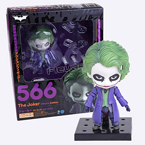 VIET FG Nendoroid Batman The Dark Night The Joker Villain's Edition #566 PVC Action Figure Toy Doll 4