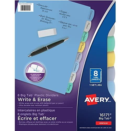 Avery Durable Write-On Tab Dividers supplier 7fRxZ7H4