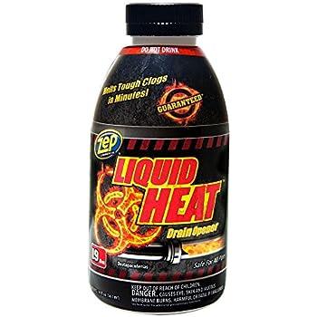 Amazon Com Zep 19 Oz Liquid Heat Drain Opener Case Of