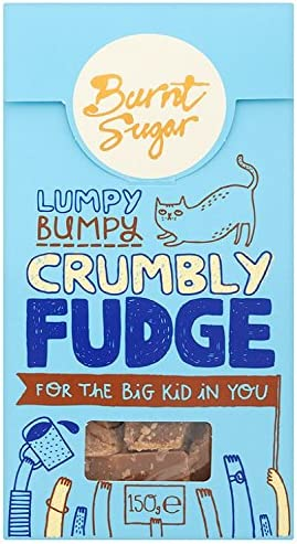 Burnt Sugar Original Crumbly Fudge 150 g (Pack of 3): Amazon.co.uk: Grocery