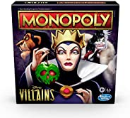 Hasbro Gaming Monopoly: Disney Villains Edition Board Game for Kids Ages 8 and Up, Play as a Classic Disney Vi