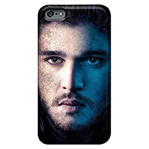 iphone 6plus 6p Hard mobile phone back case Scratch-proof Protection Cases Covers First-class game of thrones jon snow