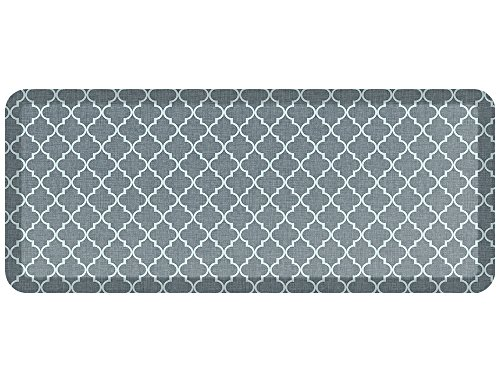 NewLife by GelPro Designer Comfort Mat, 20 by 48-Inch, Lattice Mineral ()
