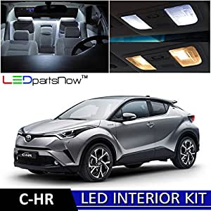 ledpartsnow 2018 toyota c hr chr led interior lights accessories replacement package. Black Bedroom Furniture Sets. Home Design Ideas