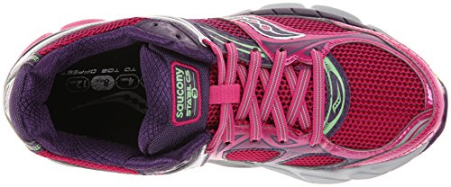 SAUCONY Stabil CS 3 Zapatilla de Running Señora Berry/Green