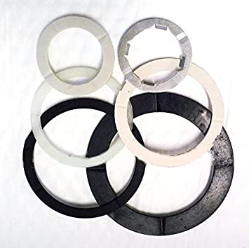 1983-Up for 4T60E 4T60 TH440-T4 Transmission Thrust Washer Set 6 pieces