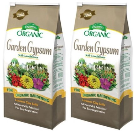 espoma gg6 garden gypsum fertilizer 6 pound 2 pack - Garden Gypsum
