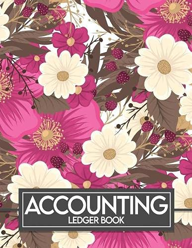 Account Ledger Book: A simple bookkeeping record book – Accounting Ledger Book – Ledger books for bookkeeping