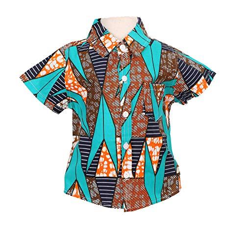 - Little Boys Shirt, Ankara Print, Handmade, African Print Clothes, Short Sleeve Shirt, Party Shirt, Toddler Shirt (B, XL)