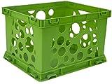 Plastic Crates For Storage Storex Mini Crate 9 X 7 75 X