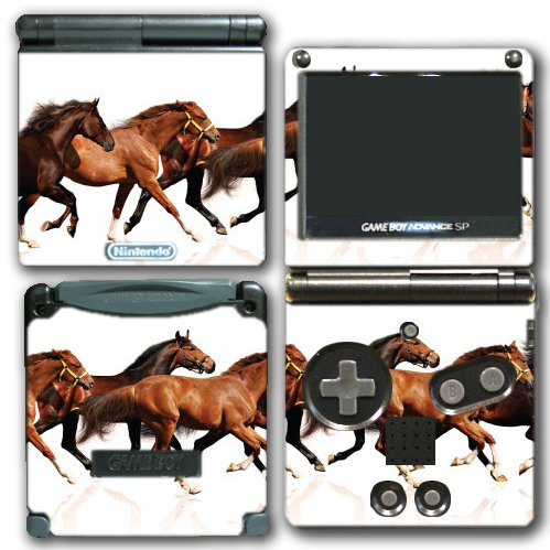 Horse Racing Ponies Beautiful Design Video Game Vinyl Dec...