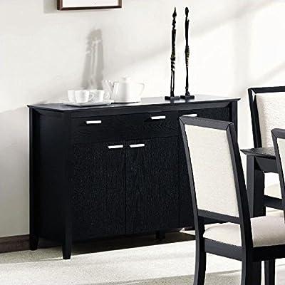 Coaster Lexton Server, Black -  - sideboards-buffets, kitchen-dining-room-furniture, kitchen-dining-room - 51rNJwu3L L. SS400  -