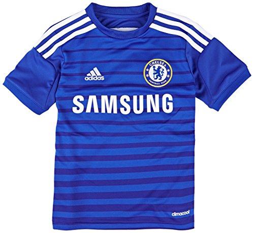 フクロウボランティアアフリカ人2014-15 Chelsea Adidas Home Football Shirt (Kids)
