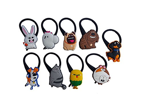 [AVIRGO 9 pcs Black Soft Clothes And Bags Decoration Zipper Pull Keyring Carabiner Set # 118 - 3] (C Viper Costumes)