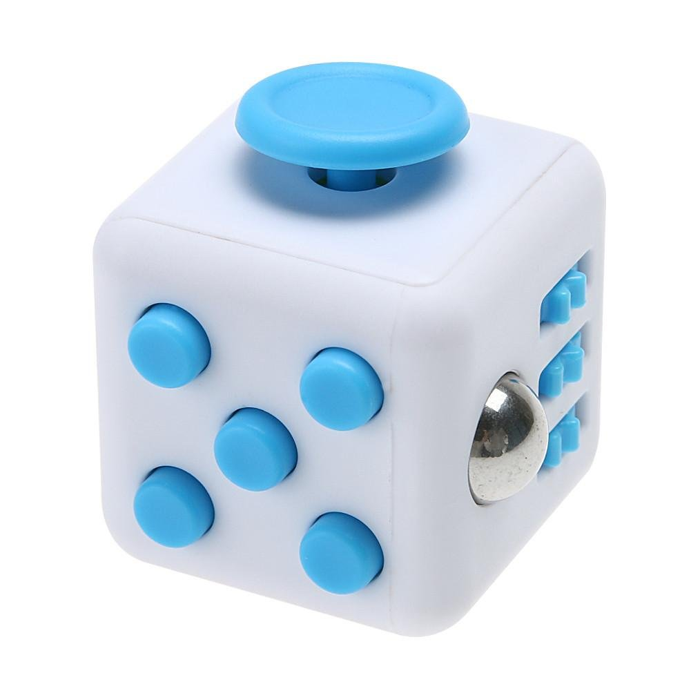 Product24 Premium Fidget Würfel Anti-Stress-Würfel Anti-Stress-Ball optimales Spielzeug gegen Stress und zur Beruhigung in verschiedenen Farben (Schwarz)