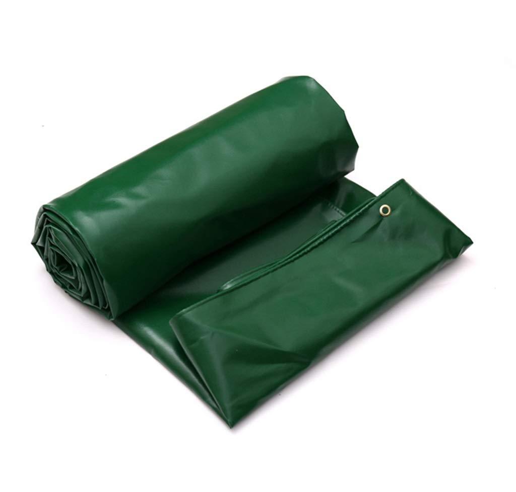 タポリン両面防水ヘビーデューティサンシェードレインサンスクリーン防風トラックカバー貨物布アルミ亜鉛製ボタンホール - 670g /m² (サイズ さいず : 4X3M) B07GXMKL27 4X3M  4X3M