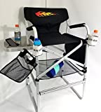 ''''BIG DADDY'''' HOT ROD Edition---OASIS HEAVY DUTY TALL DIRECTOR Chair w/-Side Tray