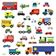 Decowall DW-1205 Transportes pegatinas de pared | wall stickers | pegatinas de pared | pared del tatuaje | etiqueta de la pared | Mural