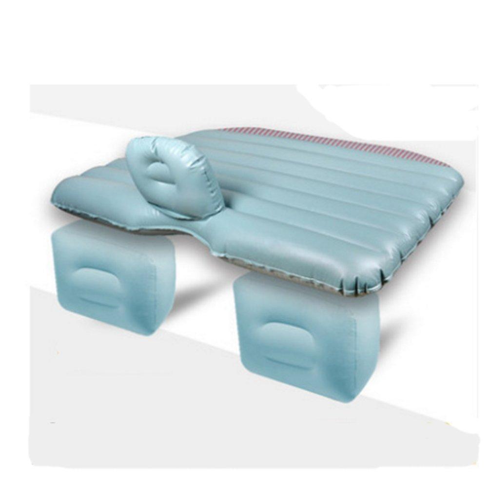 TPU Auto Bett Auto Bett Auto Reisebett Auto Luftmatratze Universelle Multi-Farbe Optional Matratze Und Fuß Pier Trennung,Grün