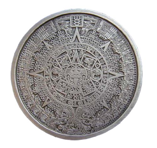 Aztec Calendar Novelty Belt Buckle ()