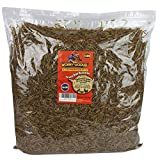 Wormy-Licious! Dried Mealworms in Bulk: Treats for Chickens and Wild Birds (5 Pound Bag)