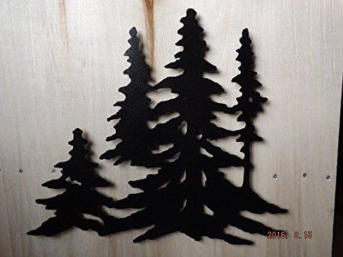 Pine Tree Metal Art - 7