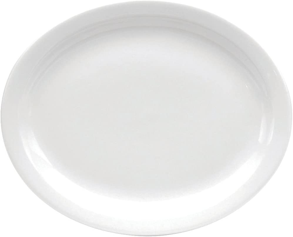 Oneida Foodservice F9000000359 Narrow Rim Platter, 11.5