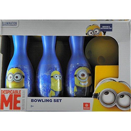 MINIONS Mondo Despicable Me Plastic Skittles Bowling Set by MINIONS