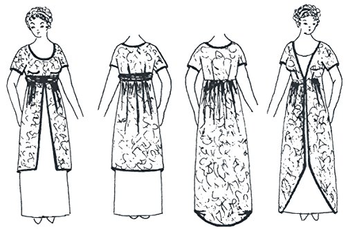 1910 - 1915 Gown & Overdress Pattern