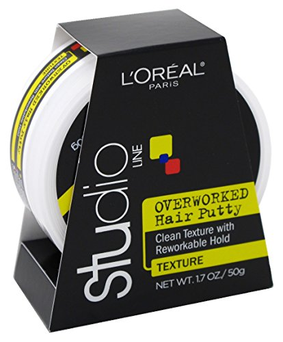 - Loreal Studio Putty Overworked 1.7 Ounce (50ml) (6 Pack)
