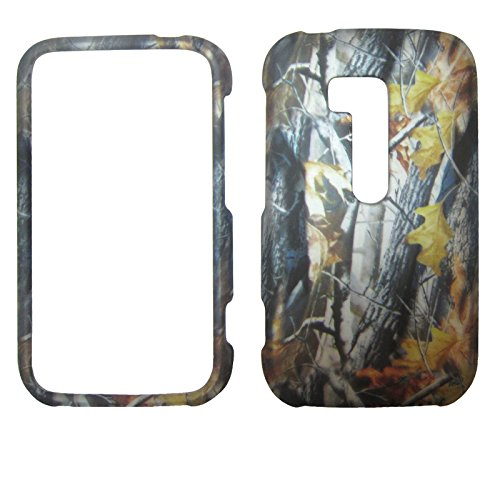 Autumn Leaves Camouflage Nokia Lumia 822 / Atlas Verizon Case Cover Hard Phone Case Snap-on Cover Rubberized Touch Faceplates