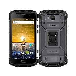 Original Ulefone Armor 2 IP68 Waterproof MTK Helio P25 Octa Core 6GB RAM 64GB ROM 5.0 inch FHD Android 7.0 4700mAh Smartphone (Black)