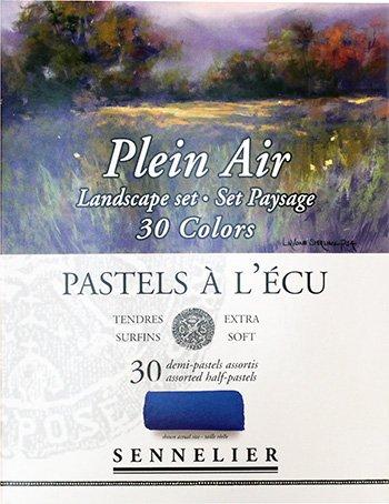 Sennelier Half Stick Pastel Landscape 30 Set by Sennelier