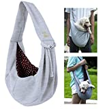PROPLUMS Dog Sling Carrier, Outdoor Travel Shoulder Bag Tote for Puppy Small Dog For Sale