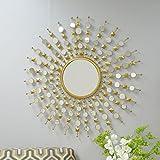 Payton Round Sunburst Mirror