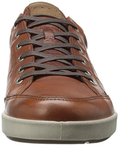 Ecco Mens Eisner Casual Oxford Cognac / Whisky
